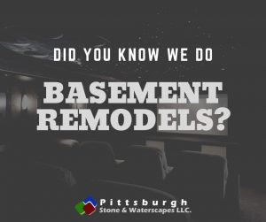 basement conversion and remodel