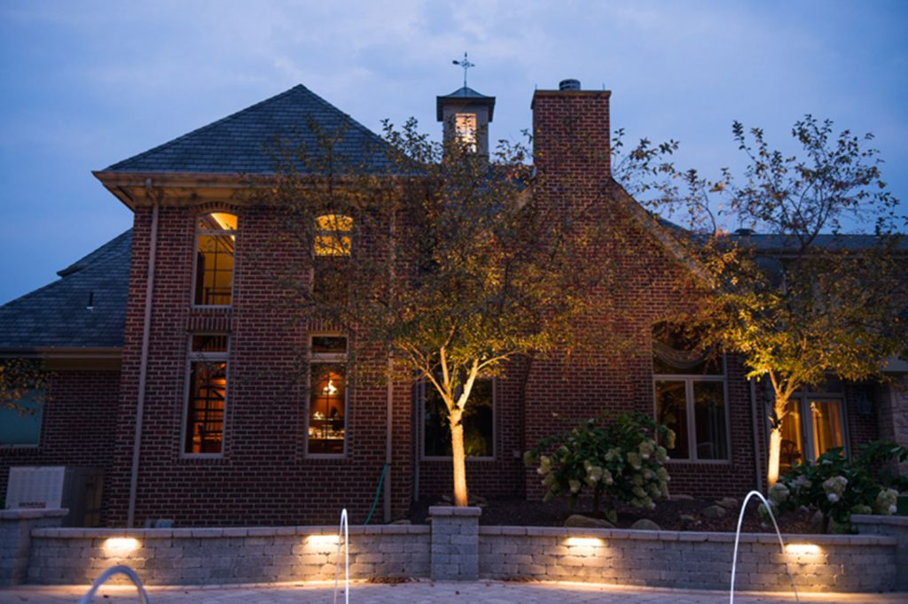 Outdoor Lighting and Landscaping in Eighty Four