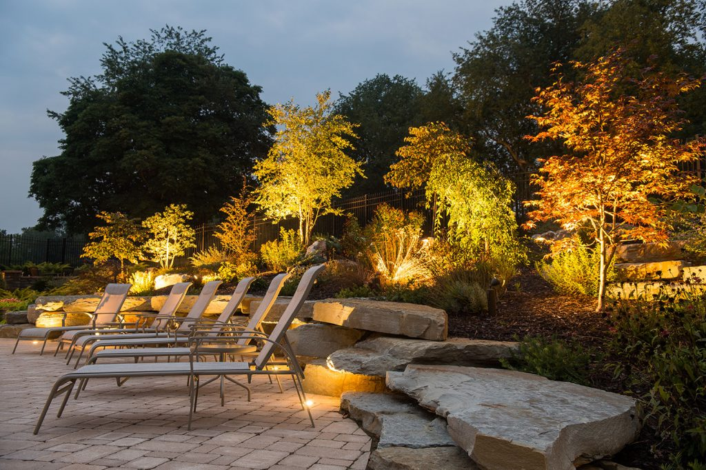 Paver Patio and Boulders in Eighty Four