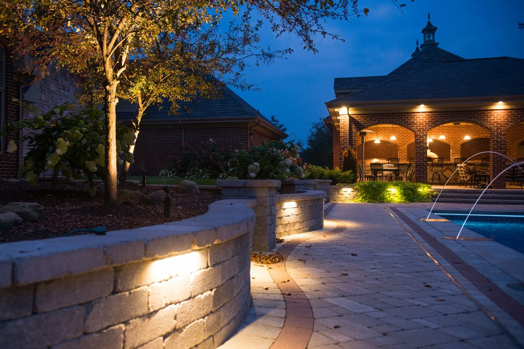 Paver Patio and Wall in Eighty Four