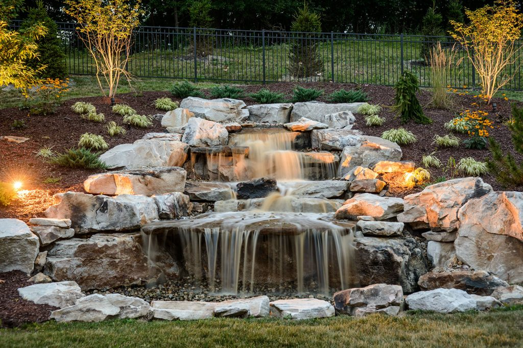 Pondless Waterfall in Gibsonia, PA