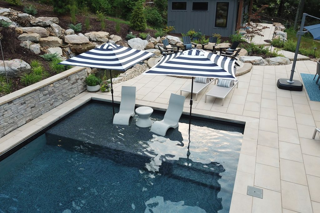 Outdoor Living and Family Fun Pool in Moon Township