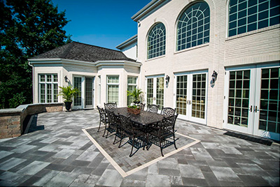 Paver and Concrete Patios and Driveways