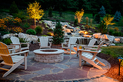 Pittsburgh stone fire pits