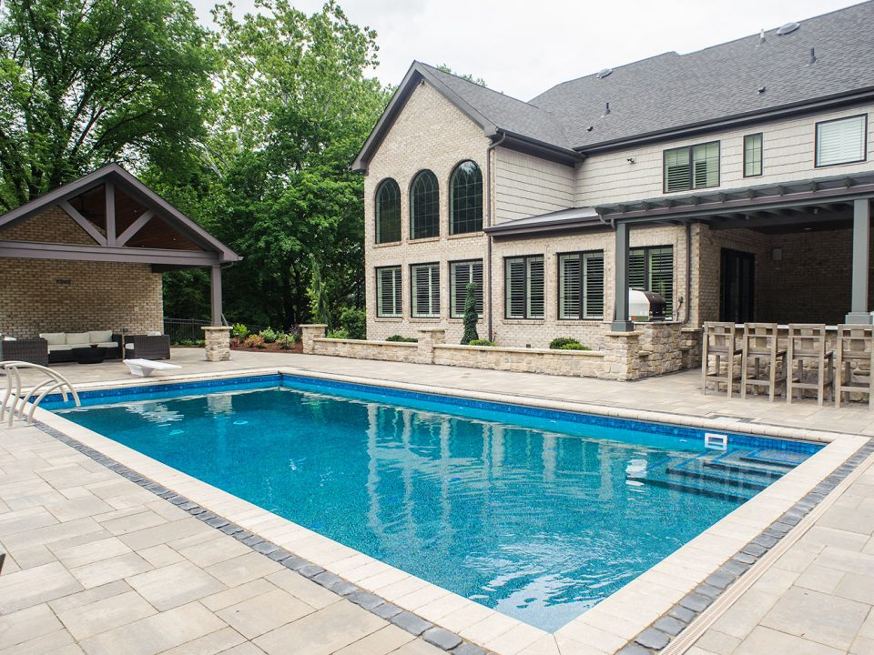 Custom In-Ground Pool in Upper St. Clair