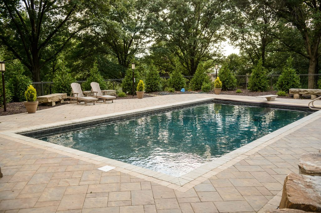 Pool and Pavers in Upper St. Clair