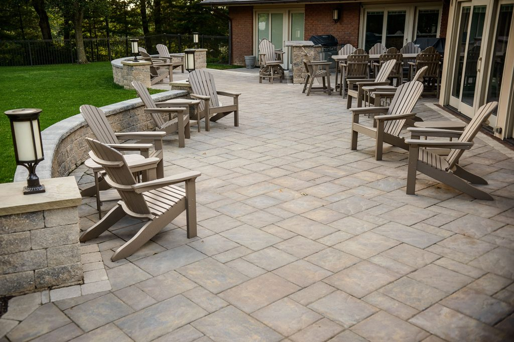 Paver Patio in Upper St. Clair