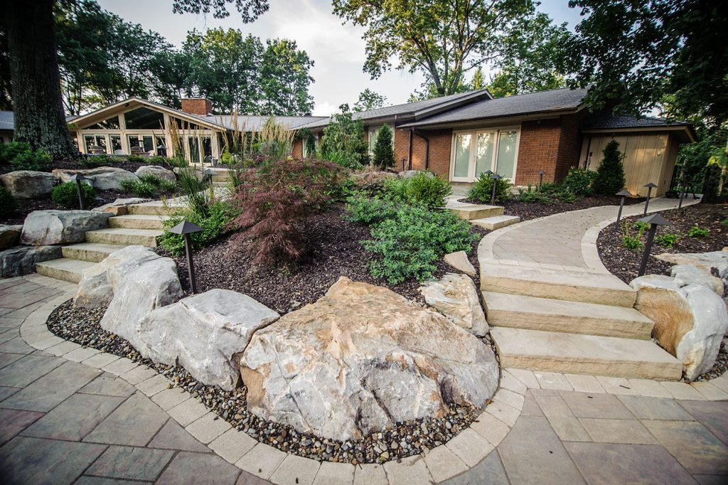 Boulderscaping in Upper St. Clair