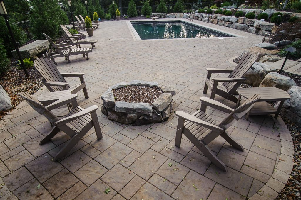 Pavers and Fire Pit in Upper St. Clair