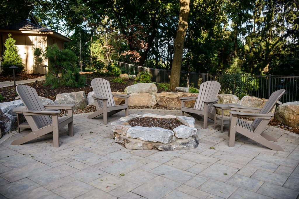 Fire Pit in Upper St. Clair