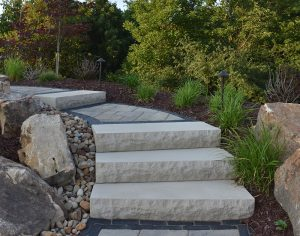 Paver Walkway and Stairs