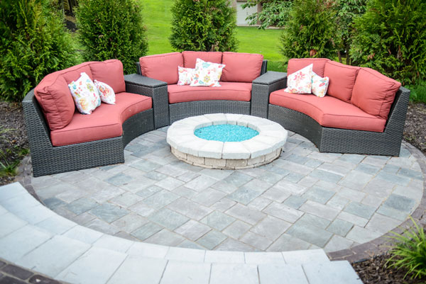Paver Living Area