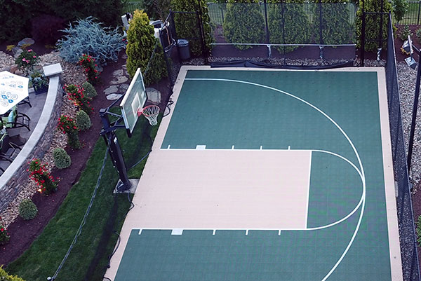 Basketball Sport Court Surface